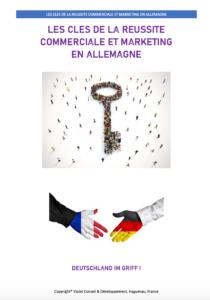 Ebook les clés de la réussite commerciale et digitale en Allemagne par Jean-Cédric Violet
